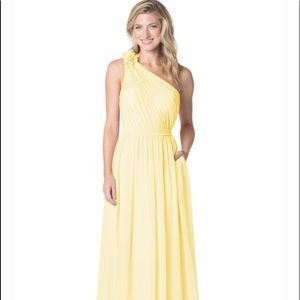 Bari Jay Dresses - NWT Bari Jay daffodil yellow maxi dress sz 8 10 d67abb842